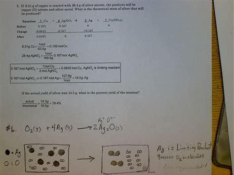 Balancing Chemical Equations Worksheet Intermediate Level Answers