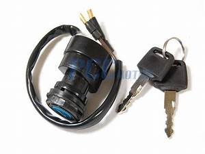 2 Wire Ignition Key Switch Yfs200 Blaster 1988
