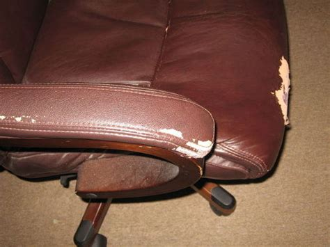 "Two Chairs Failing Is There A ""paint On"" Fix For Leather"