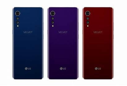 Lg Velvet Smartphone Neues Endlich Thinq Zeigen