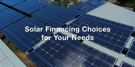 residential solar system financing brilliant harvest