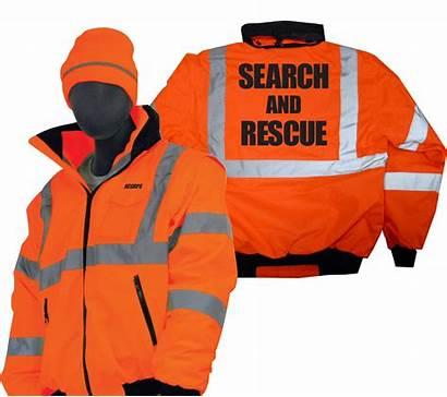 Rescue Jacket Winter Bomber Vis Waterproof Weather