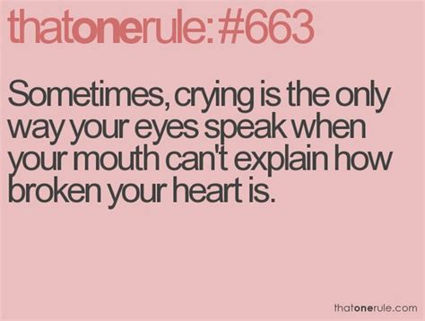 Quotes About Crying Quotesgram