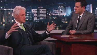 Bill Clinton admits on Jimmy Kimmel Live to investigating ...