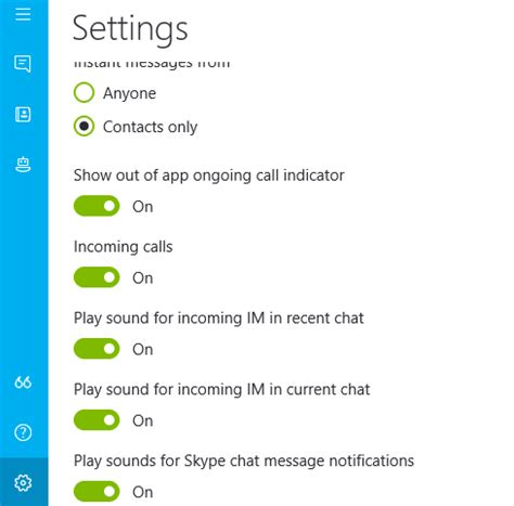 skype no longer has sound notification for new messages microsoft community