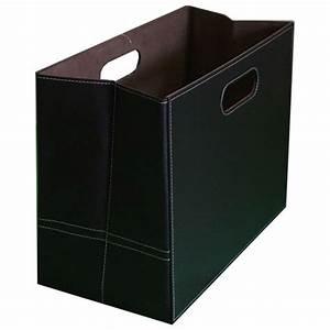 Porte Revue Carton : porte revue en simili cuir ~ Teatrodelosmanantiales.com Idées de Décoration