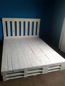 Recycled Pallet Bed Frame 101 Pallets