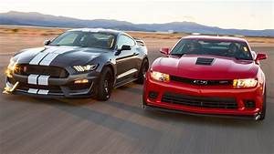 Mustang vs. Camaro - American Grit