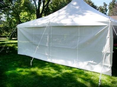tent side curtain 30 rental plus