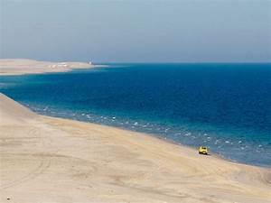 Khor al Adaid (Inland Sea), Qatar - Sonya and Travis  Sea