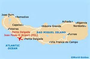 Ponta Delgada Azores Map