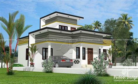 925 sq.feet contemporary single floor house – Kerala Home