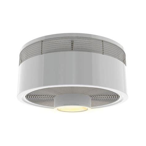lowes flush mount white ceiling fans shop harbor breeze hive series 18 in white flush mount