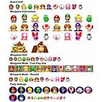 Mario Sheet Icons Spriters Resource Party Previous