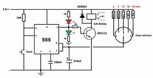 220v ac timer using ic 555 simple projects With 555 timer