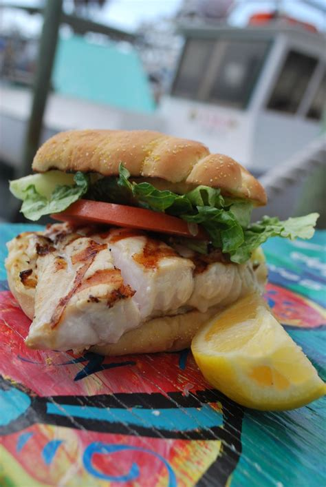 grouper sandwich anna maria restaurants island grilled starfish guide fries