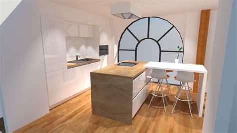 bar cuisine design plan de travail arrondi pour bar maison design bahbe com