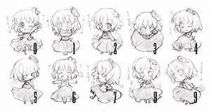 10 Chibi Expressions by Bardi3l on DeviantArt