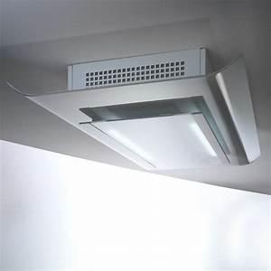 Hotte à Recyclage : hotte plafonnier recyclage cielo 120cm aspiration ~ Edinachiropracticcenter.com Idées de Décoration