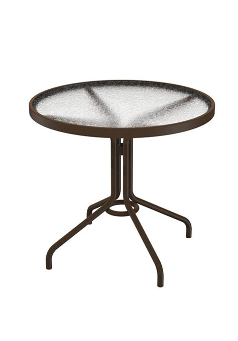 round plexiglass table top dining table 30 quot round acrylic hauser 39 s patio