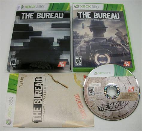 the bureau xbox 360 the bureau xcom declassified xbox 360 used