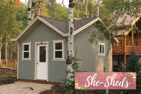 ?She Shed? Is the New ?Man Cave?   A Shed USA