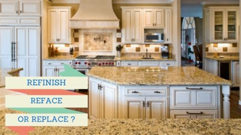 reface or replace kitchen cabinets is your kitchen ready for a makeover refinish reface or 7697