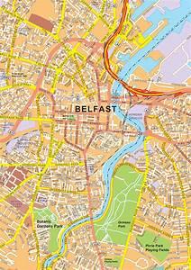 Digital City Map Belfast 468