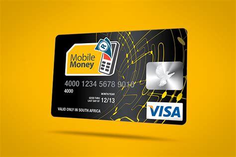 mtn unveils mobile money visa card