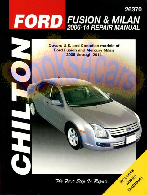 how to download repair manuals 2011 ford fusion security system shop manual fusion service repair ford mercury milan book chilton haynes ebay