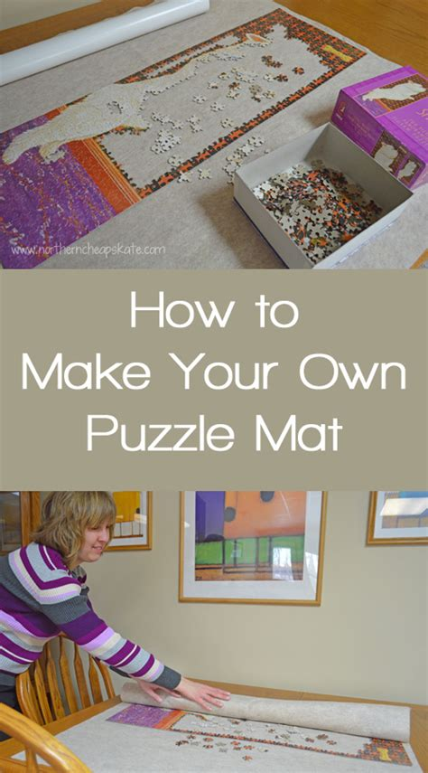how to mat a print how to make your own puzzle mat