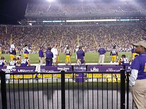 Tiger Stadium Baton Seating Chart Tiger Stadium Section 104 Rateyourseats Com