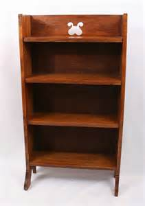 Arts And Crafts Bookcase by Arts Crafts Oak Bookcase Antiques Atlas