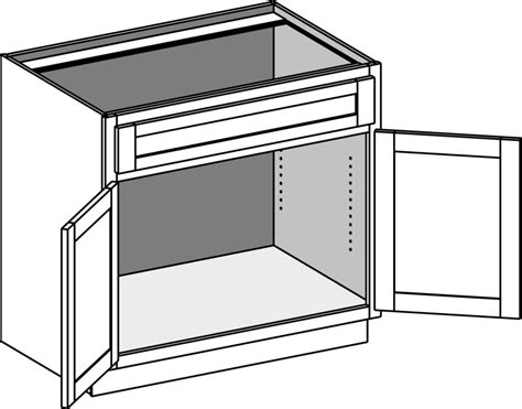 kitchen cabinet corner base cabinets cabinet joint 2434