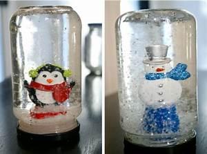 Figuren Für Schneekugeln : schneekugel basteln statt kaufen 58 einmalige ideen ~ Frokenaadalensverden.com Haus und Dekorationen