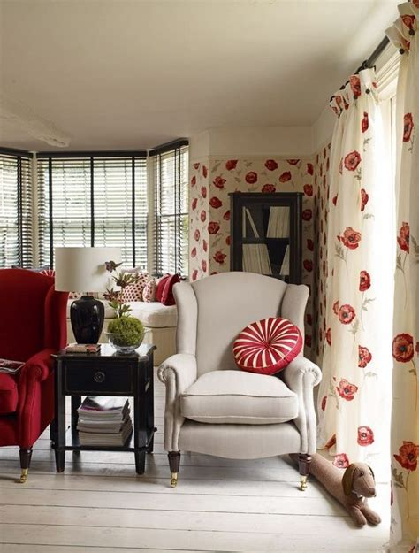 laura ashley wallpaper  perfect choice  living room  bedroom minimalisticom interior