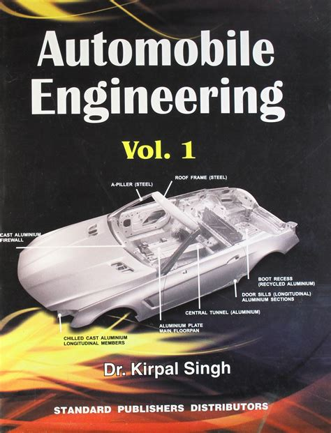 automobile engineering  kirpal singh