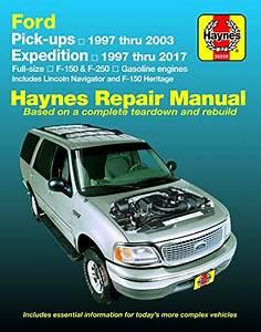 Compare Price  2001 Ford F150 Service Manual