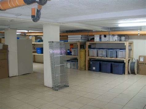 how to keep your basement free of clutter home