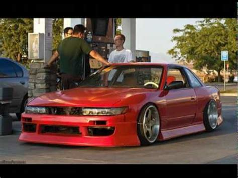 Jdm Hellaflush Nissan 240sx S13 S14 S15 Tribute Youtube