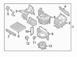 2016 Hyundai Sonata Hvac Blower Motor Resistor  Resistor
