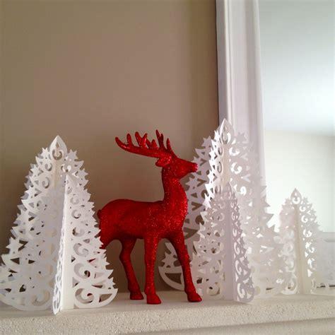 decoration noel en papier for 234 t de sapins en papier dentel 233 d 233 coration de no 235 l accessoires de maison par made at les