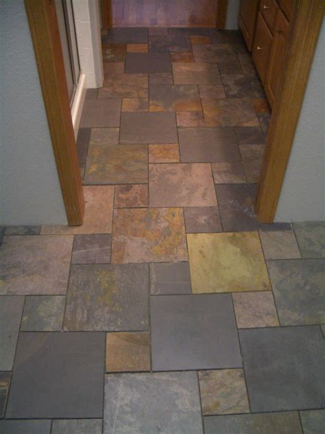 Bathroom Slate Tile Ideas Bathroom With Slate Tile Bathroom Tile