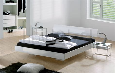 floating bed ideas    bedroom