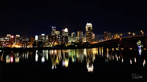 The City Of Lights by Minneapolis City Lights Photos By Ravi