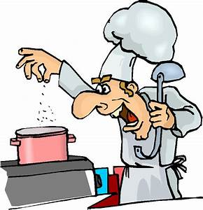 Chef Cooking Clipart - The Cliparts