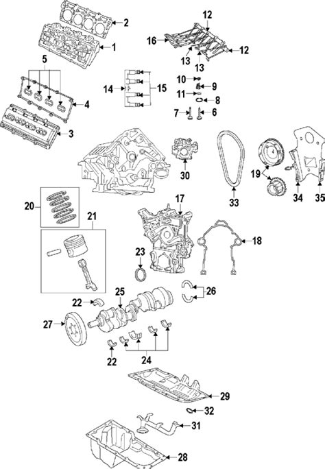 Dodge Engine Diagram For 5 7 by Parts 174 Dodge Gskt Kit Engine Partnumber 68196239ac
