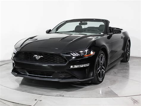 ford mustang ecoboost 2018 used 2018 ford mustang ecoboost premium convertible for