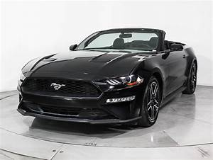 Used 2018 FORD MUSTANG Ecoboost Premium Convertible for sale in HOLLYWOOD, FL | 98278 | Florida ...