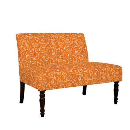angelo home settee angelo home bradstreet bird flock vintage orange and